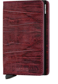 Dutch Martin Bordeaux Slim Wallet