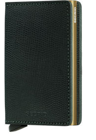 Rango Green/Gold Slim Wallet
