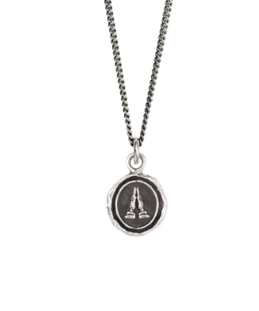 Sterling Silver Grateful Appreciation Talisman Necklace