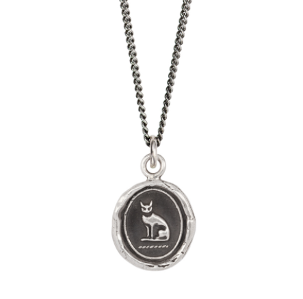Sterling Silver Autonomy Talisman Necklace