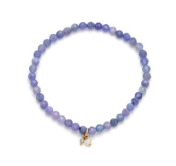 Social Mini - Gold Fill Tanzanite Bracelet