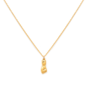 Figa - Gold Plate & Gold Fill Chain Necklace