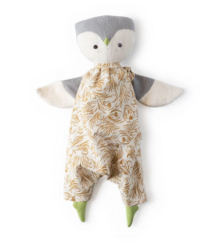 Lucy Owl in Herb Meadow Coveralls