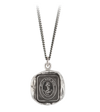 Sterling Silver Still Have Hope Talisman Necklace