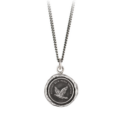 Sterling Silver Believe You Can Talisman Necklace