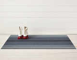 Block Stripe Shag Indoor/Outdoor Mat 2' x 3'