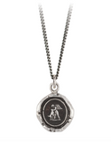 Sterling Silver Love & Friendship Talisman Necklace
