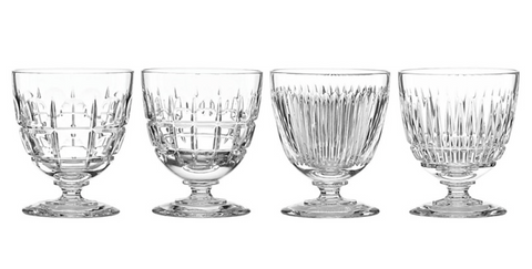 New Vintage Cocktail Glasses Set of 4