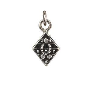 Sterling Silver Safeguard Talisman Charm