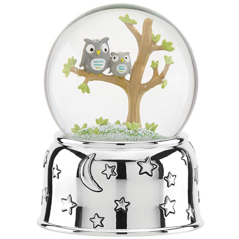 Hazelnut Hollow Owl Waterglobe