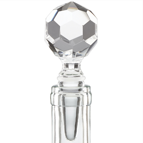 Mercer Prismatic Ball Glass Bottle Stopper