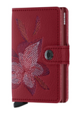 Stitch Magnolia Rosso Mini Wallet