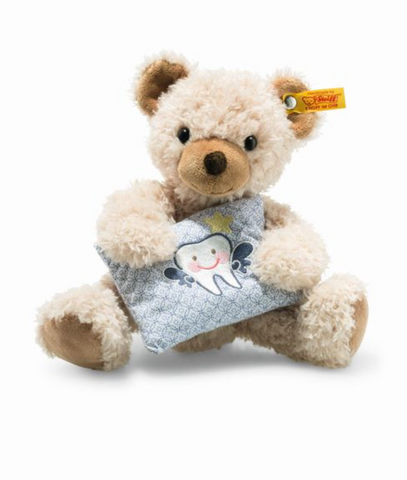 Leo Tooth Fairy Teddy Bear, Beige