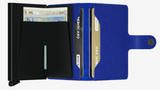 Crisple Blue/Black Mini Wallet