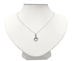 Sterling Silver CZ Twinkling Celeste Small Necklace