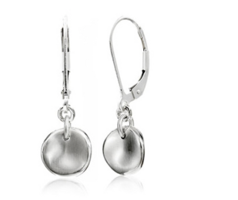 Sterling Silver Medium Celeste Earrings