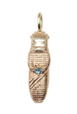 B'atz - 14k Gold Alexandrite Worry Doll Necklace