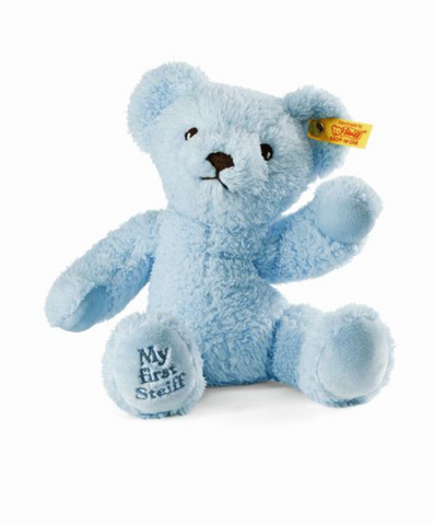 My First Steiff Teddy Bear, Blue