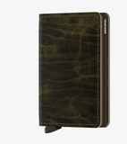 Dutch Martin Olive Slim Wallet
