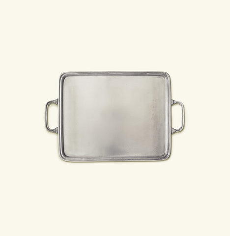 Rectangle Tray with Handles, Medium