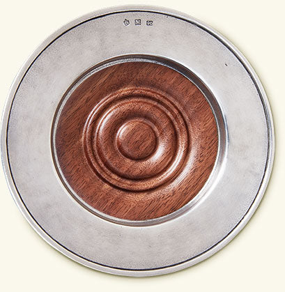 Convivo Wine Coaster With Wood Insert