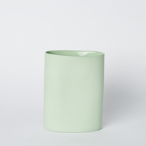 Oval Vase Medium Pistachio