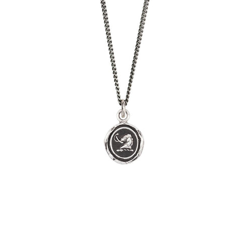 Affectionate Appreciation Talisman Necklace, sterling silver