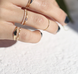 14K Gold Delicate Band