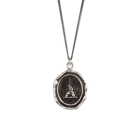 Sterling Silver Brotherhood Talisman Necklace