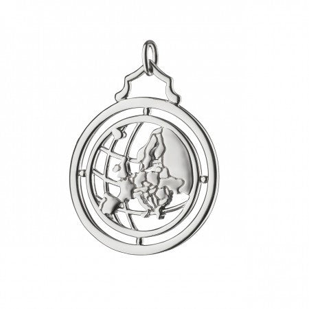 Sterling Silver Europe Charm