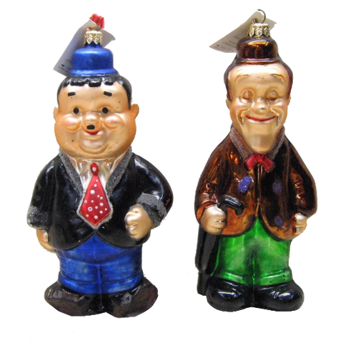 Laurel and Hardy (Set of 2)