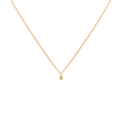 Element - Gold Fill Peridot Necklace