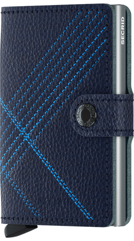 Stitch Linea Navy Mini Wallet