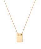 Note - Gold Plate & Gold Fill Chain Necklace