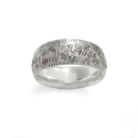Sterling Silver Smash Ring