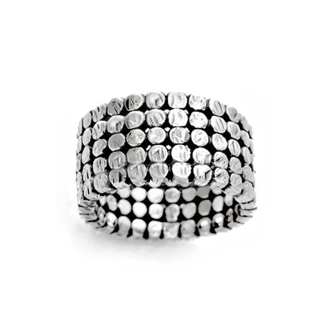 Sterling Silver Nailhead Ring