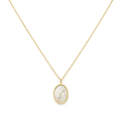 Sirene - Gold Fill Pearl Necklace