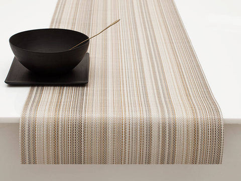 Multi Stripe Runner in Champagne