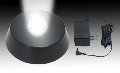 LED Ultrabright Light Base Black