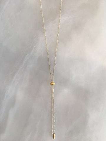 Sterling Silver & Vermeil Sparkle Necklace