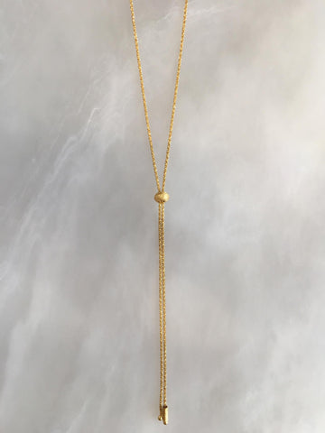 Vermeil Sparkle Necklace
