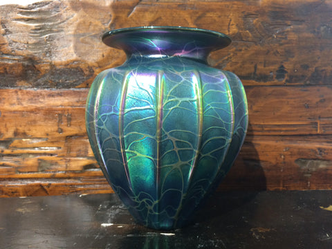 Atlantis Cobweb Optic Vase