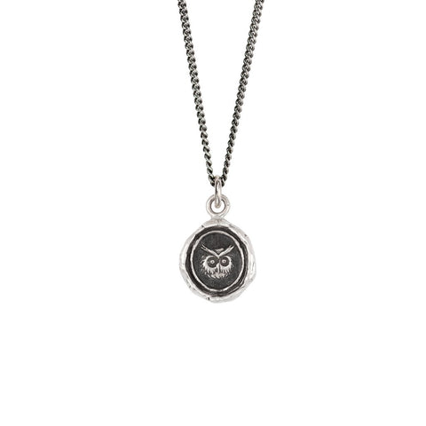 Sterling Silver Witty Appreciation Talisman Necklace
