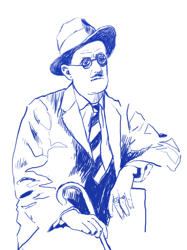 James Joyce cold showers