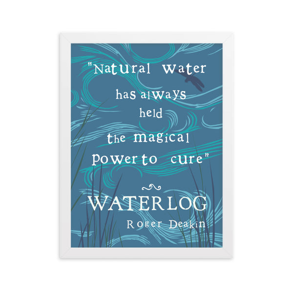 Roger Deakin Waterlog Swimming Quote Regular