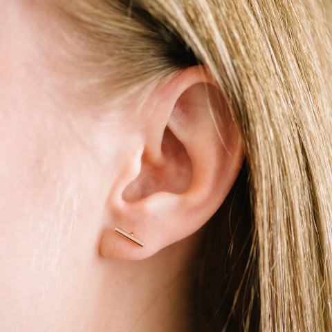 Bar Earrings - Handmade Studio Co