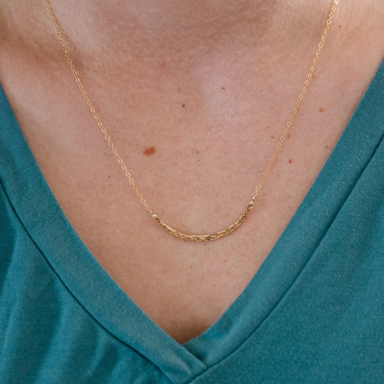 Crescent Necklace - Handmade Studio Co