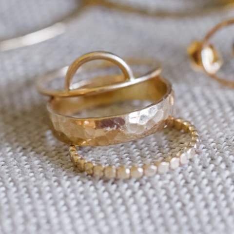 Elizabeth Ring Stack