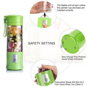 USB Electric Safety Juicer On-The-Go