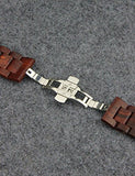 Wooden Bands Compatible for Apple Watch 42mm 44mm YFWOOD Eco-Friendly Natural Handmade Wood Watch Strap Bracelet Compatible for iWatch Series 4 3 2 1 - Giftsfiber.com
